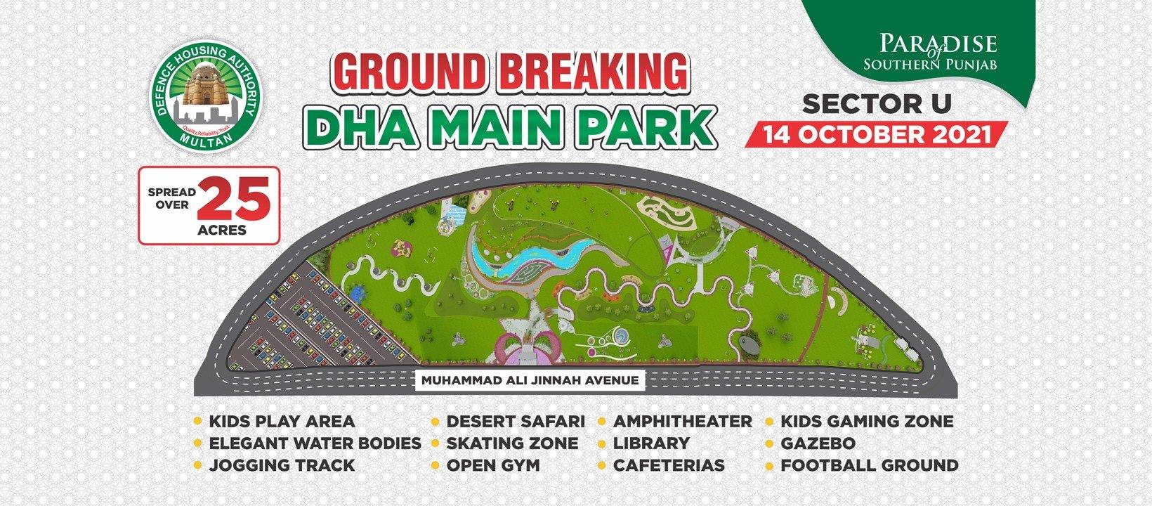 DHA Main Park - sector U DHA Multan