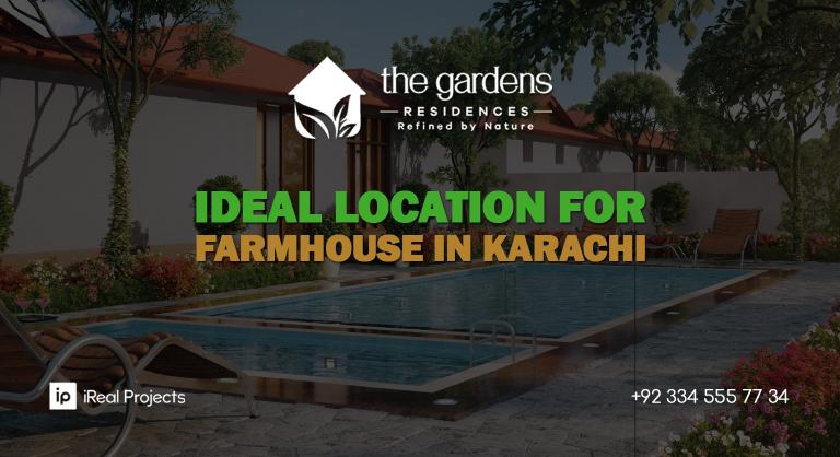 Ideal Location for Farmhouses in Karachi