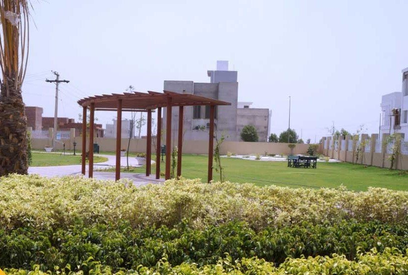 ladies park in Royal Orchard Multan near completion